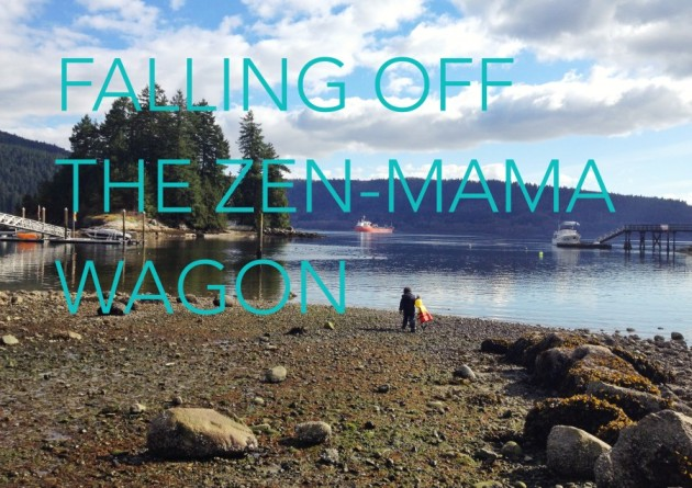Falling Off The Zen Mama Wagon